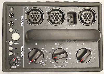 Used Profoto 7A 2400ws Strobe Pack With AC cord and Sync