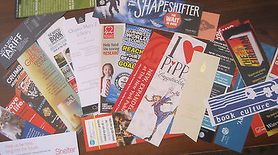 Bookmarks, Lot Of 15 + Assorted Bookmarks