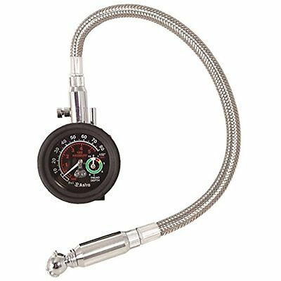 Astro 3086 Tire Gauges 2-in-1 Tire Pressure and Tread Depth Gauge with Hose