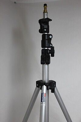 Manfrotto 3333 Basic Studio Light Lighting Stand 9.5 ft Bogen