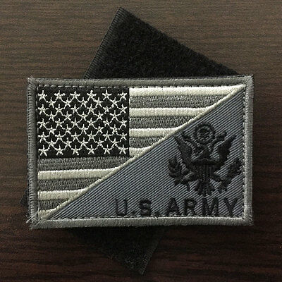 U.S. ARMY American Flag USA Military Tactical Morale Badge Subuded Bag Cap Patch