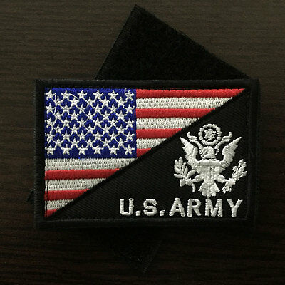 U.S. ARMY American Flag USA Military Tactical Morale Badge Uniform Cap Hat  Patch afd2d740f40