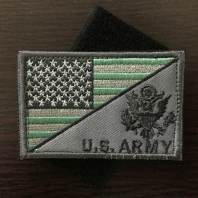 U.S. ARMY American Flag USA Military Tactical Morale Badge Sticker Cap Hat Patch