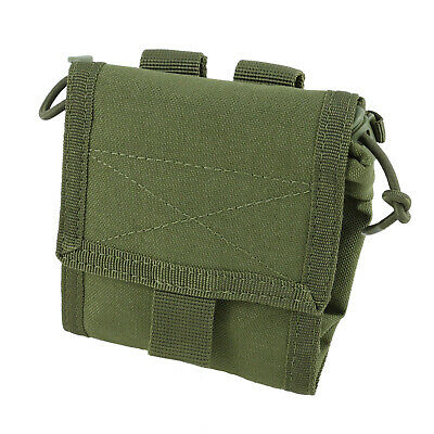 Condor Outdoor Roll-UP Utility Dump Pouch Molle Olive Drab MA36-001