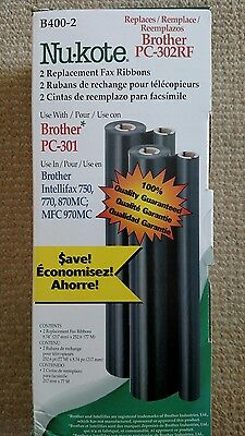 Nu-kote Model B400-2 Brother Compatible Refill Rolls, ONE New
