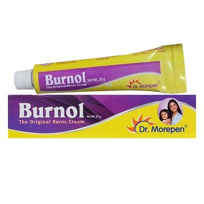 2 X Burnol 20g Cream from Dr.Morepen * Free Shipping * (2 Tube)