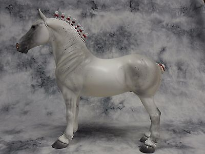 Peter Stone * Fred * Standing Draft Drafter Percheron Traditional Model Horse