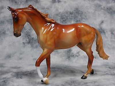 Peter Stone * Severance * Glossy Thoroughbred Racing Traditional Model Horse
