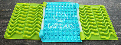 Gummy Bear and Worm Silicone Mold Bundle (4 trays and 4 Bonus droppers)