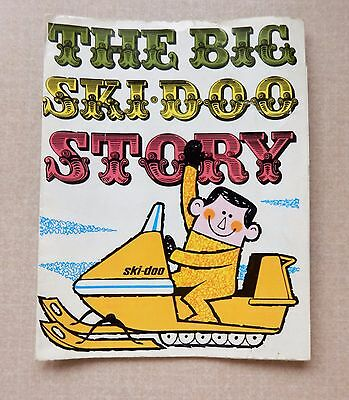 The Big Ski-Doo Story Advertising Pamphlet From the 1960's Includes Sea-Doo