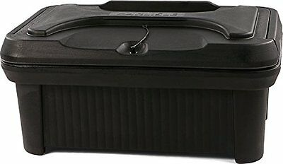 "Carlisle XT160003 Cateraide Insulated Food Pan Carrier, Top Loading, 6"", Black"