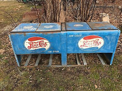 1940s Commercial Pepsi Cooler