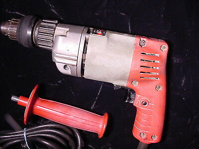 "MILWAUKEE HAMMER Corded Drill # 5392-1 - 3/8"" Chuck.2,500 RPM"