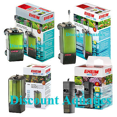 Eheim Pickup Miniup 45 60 160 Internal Filter + Media Fish Tank Aquarium Filters