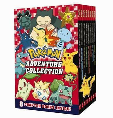 Pokemon Adventure Collection 8-Book Box Set by Paperback Book
