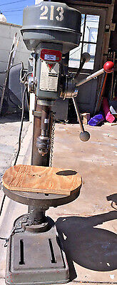 """14"""" Chicago Industrial Tool Company 5 Speed Manual Drill Press Model ai-14"""