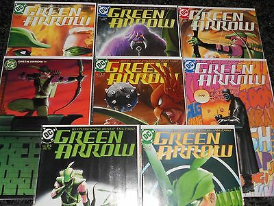 Green Arrow #8 - #15 (8 issue lot)