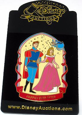 New LE 100 Disney Auctions Pin✿Sleeping Beauty Aurora Happily Ever After Phillip