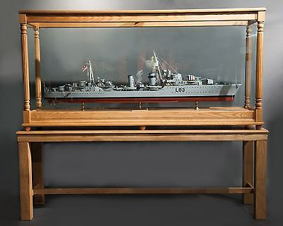Antique ship model of British Royal Navy destroyer HMS Cossack