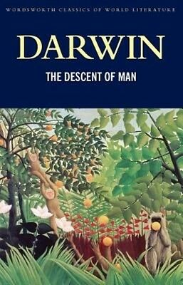 The Descent of Man by Charles Darwin Paperback Book