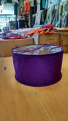 Large hat box Purple