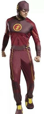 Rubie's Costume Co Men's The Flash Superhero Adult Costume Standard Size Cosplay