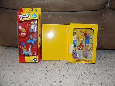 New In Package The Simpsons Krusty World Vehicle set & Movie Exclusive Figurines