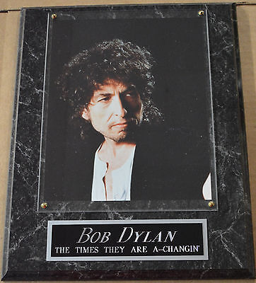 #1 FAN BOB DYLAN FRAMED 8 X 10 PHOTO WALL PLAQUE DISPLAY-POSTER-SIGN album cd