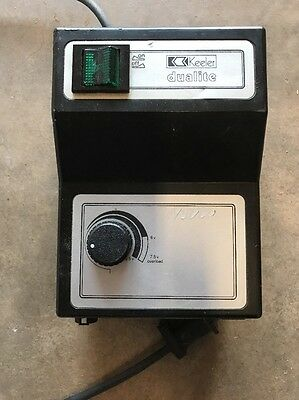Keeler 1951-P-2209 Dualite Headlamp Power Supply Turns On/has Voltage Outputs