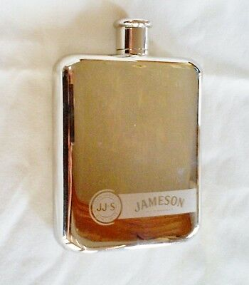 JJ&S john Jameson & Sons Limited Irish Whiskey Stainless Steel Flask