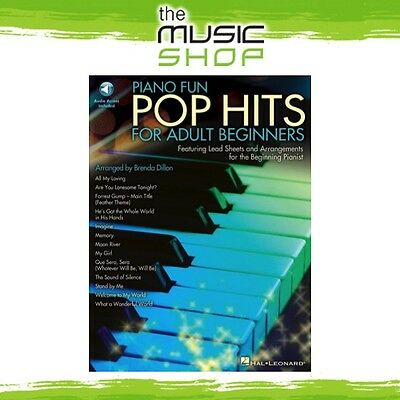 New Piano Fun Pop Hits for Adult Beginners Book & OLA Tuition Music Book