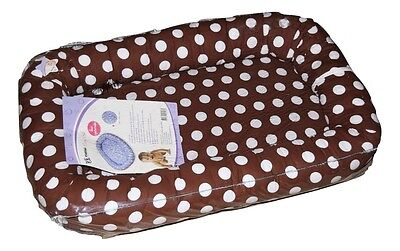KIDDIES BABY COSY CRIB PORTABLE CO-SLEEPER - POLKA DOT COTTON porta cot