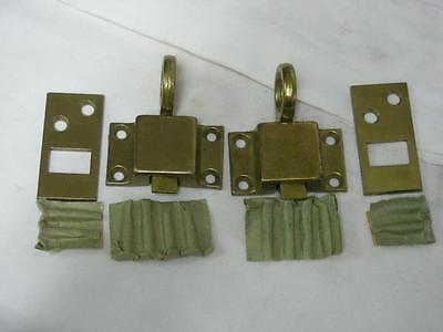Vintage Two Russwin Brass Latches New Old Stock