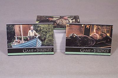 GAME OF THRONES SEASON FIVE complete card set 1-100 !!