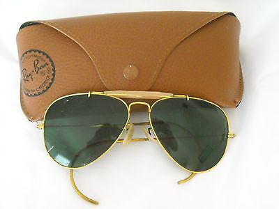 B&L  Ray Ban Aviator Sunglasses with Case.