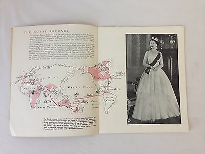 """""""The Royal Visit and You"""" Australia, Queen Elizabeth II 1954"""