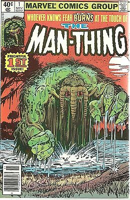 The Man-Thing #1 Bronze Age Marvel Comic 1979 Edition GREAT CONDITION