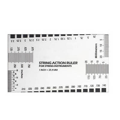 Best Electric Guitar String Action Ruler Luthier Tool Configuration AU