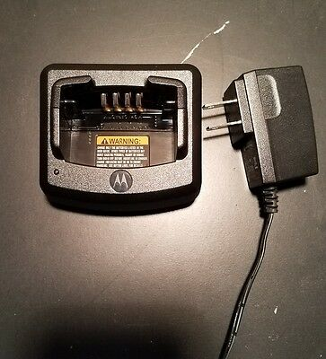 Motorola Rln6175A Standard Charger Base And Adapter