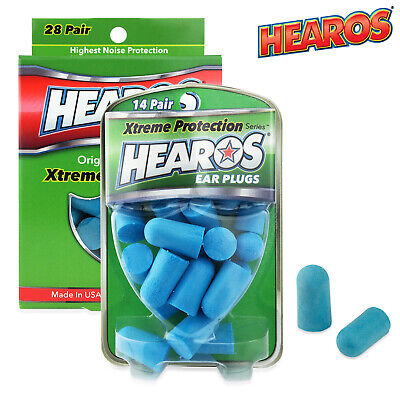 Hearos Xtreme Protection Series Earplugs Hearing Protection NRR 33dB ORIGINAL
