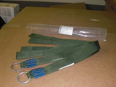 90%-off PAIR -- Military Parachute Riser Tape, Clip ring strap or Load tie downs