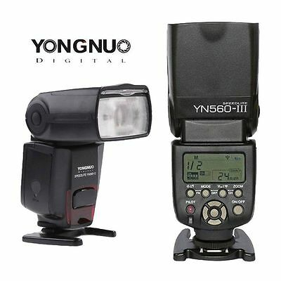Yongnuo YN560 III Flash Speedlight for Canon Nikon Pentax Olympus Fit RF-602/603