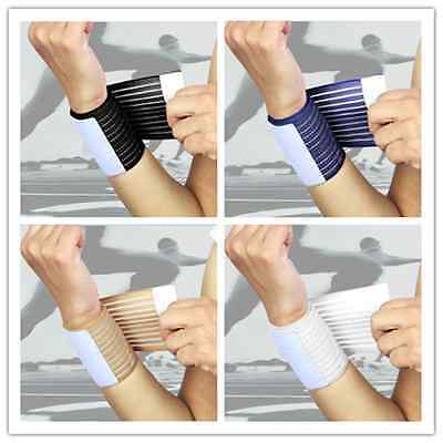 Sport Gym Workout Weight Lifting Tennis Basketball Hand Wrist Wrap Support Band""