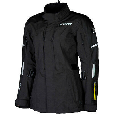 Klim Altitude Gore-Tex D3O Ladies Motorcycle Motorbike Jacket - Black
