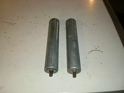 "14 conveyor rollers 1 3/4"" by 9 7/8"""