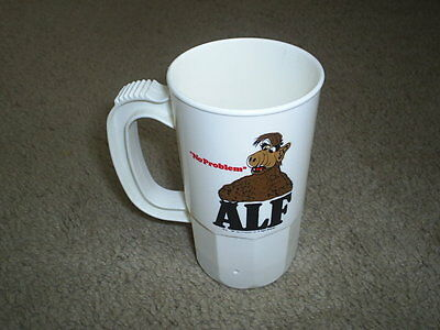 Vintage 1987 ALF TV Tie in No Problem Plastic Mug Cup Excellent Condition