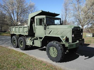 1990 Am General M929 A2 Rebuilt Military 6X6 Dump Truck 5 Ton