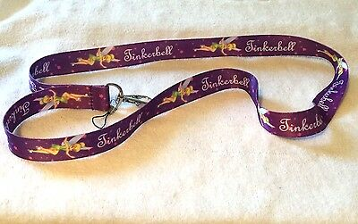 Tinkerbell Keychain ID Holder Cell Phone Lanyard
