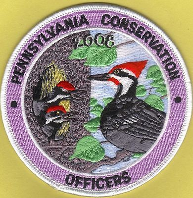Pa Fish Game Commission Pennsylvania Conservation Officers 2008 Woodpecker Patch