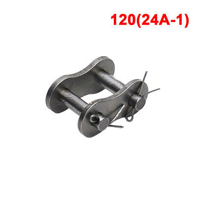 #120 Roller Chain Connecting Link Full Link For 24A-1CL 120# Chain x1Pcs